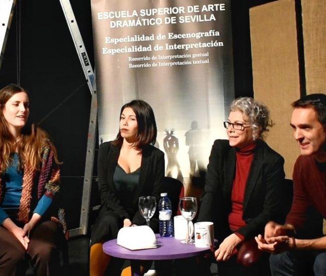Encuentro con Kiti Mánver y Juan Carlos Rubio, entrevistados por Rosa del Cerro e Irene Prado. Plan C en colaboración con la ESAD de Sevilla.